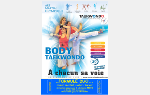 Offre promotionnelle   Duo    BODY TAEKWONDO
